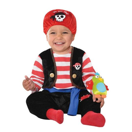 Baby Little Rebels Buccaneer Fancy Dress Costume  Thumbnail 1