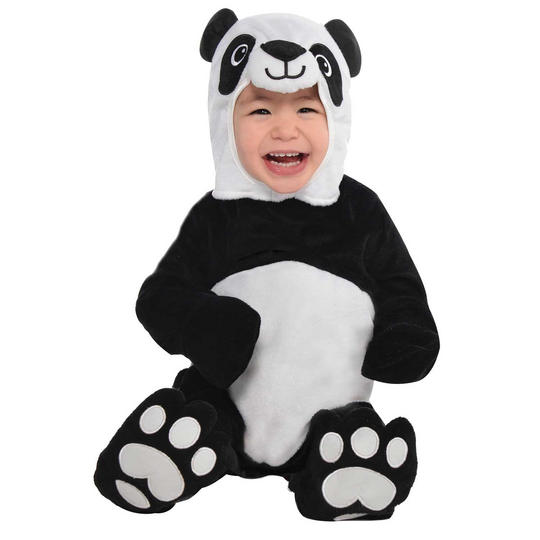 Baby Precious Panda Fancy Dress Costume  Thumbnail 1