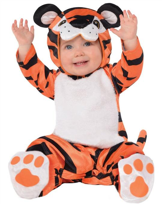 Baby Tiny Tiger Fancy Dress Costume  Thumbnail 1