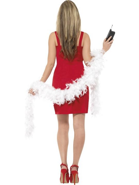 Beautiful Movie Clueless Cher Ladies Red Fancy Dress Costume Hen Party Outfit Thumbnail 2