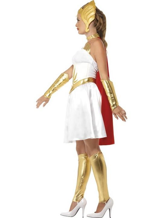 She-Ra Ladies Fancy Dress Costume Party Outfit Sexy HeMan Superhero  Thumbnail 2