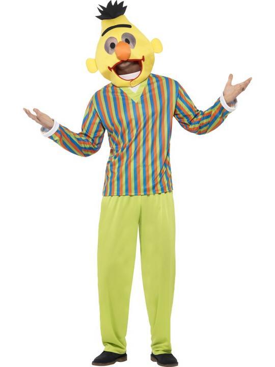 Men's Sesame Street Bert Costume Thumbnail 2