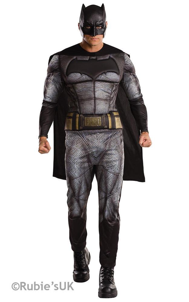 Men's Batman Dawn of Justice Fancy Dress Costume