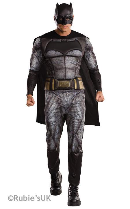 Men's Batman Dawn of Justice Fancy Dress Costume Thumbnail 1