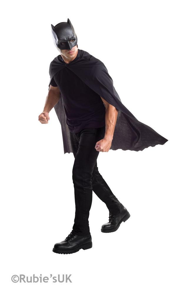 Batman Adult Mask and Cape