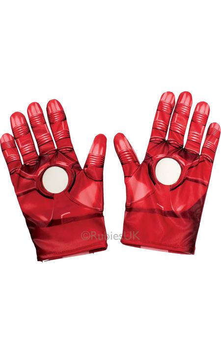 Boy's Iron Man Gloves Thumbnail 1