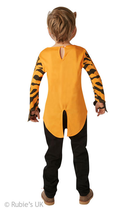 Mr Tiger Fancy Dress Costume (Age 9-10yrs) Thumbnail 2