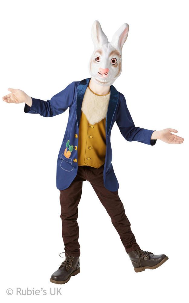 Mr Rabbit Kids Fancy Dress Costume ( Age 9-10yrs)