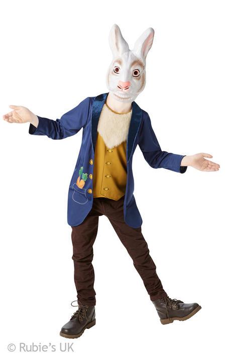 Mr Rabbit Kids Fancy Dress Costume ( Age 9-10yrs) Thumbnail 1