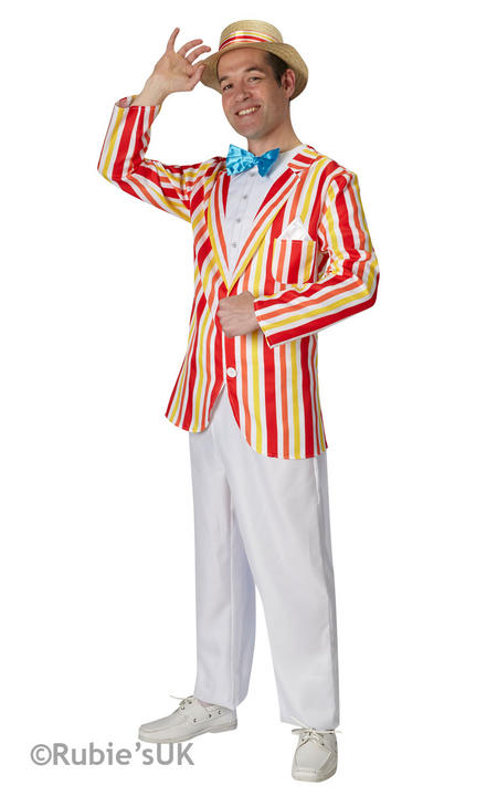 "Men's Bert ""Jolly Holiday"" Fancy Dress Costume Thumbnail 1"