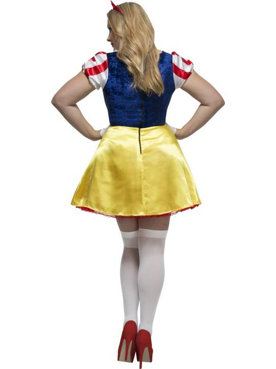 Women's Fever Curves Fairytale Fancy Dress Costume Thumbnail 2