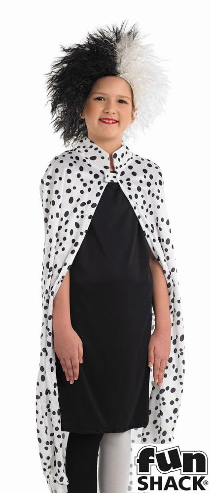 Dalmatian Girl Fancy Dress Costume