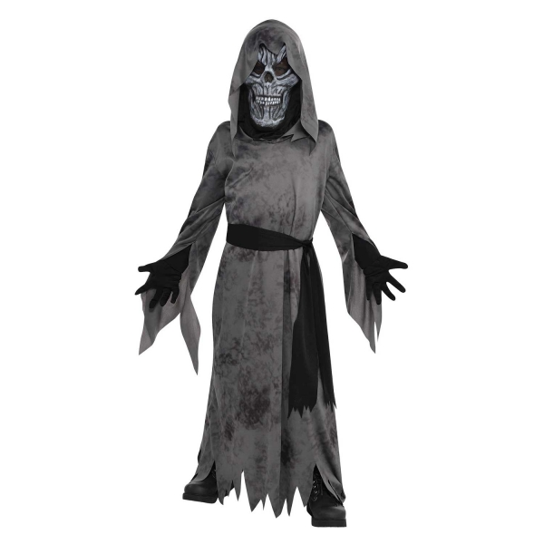 Boys Halloween Ghastly Ghoul Costume Kids Horror Fancy Dress Outfit