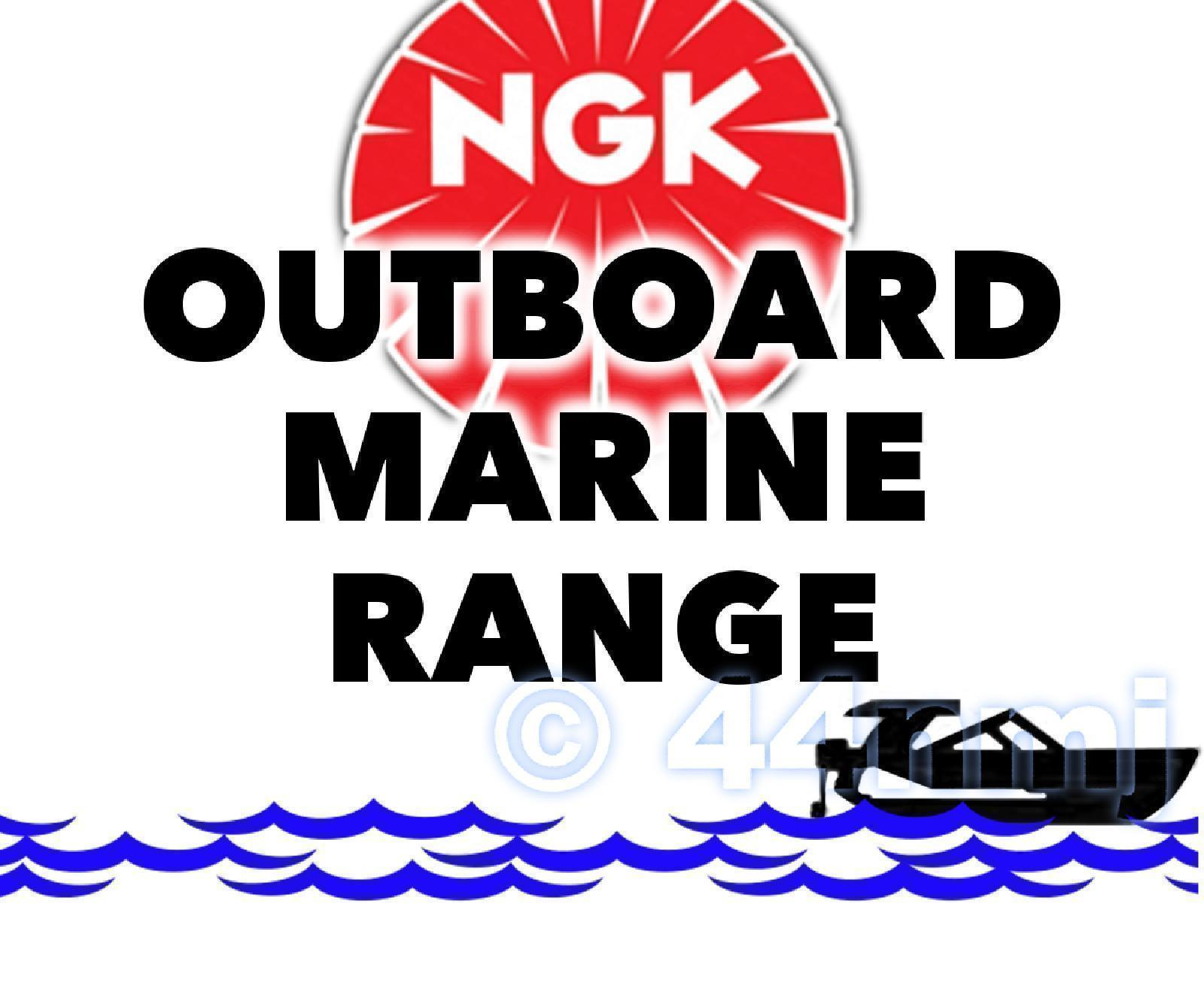 Details about NGK SPARK PLUG For Marine Outboard Engine MERCURY 60hp 3-cyl   2-Stroke 91-->00