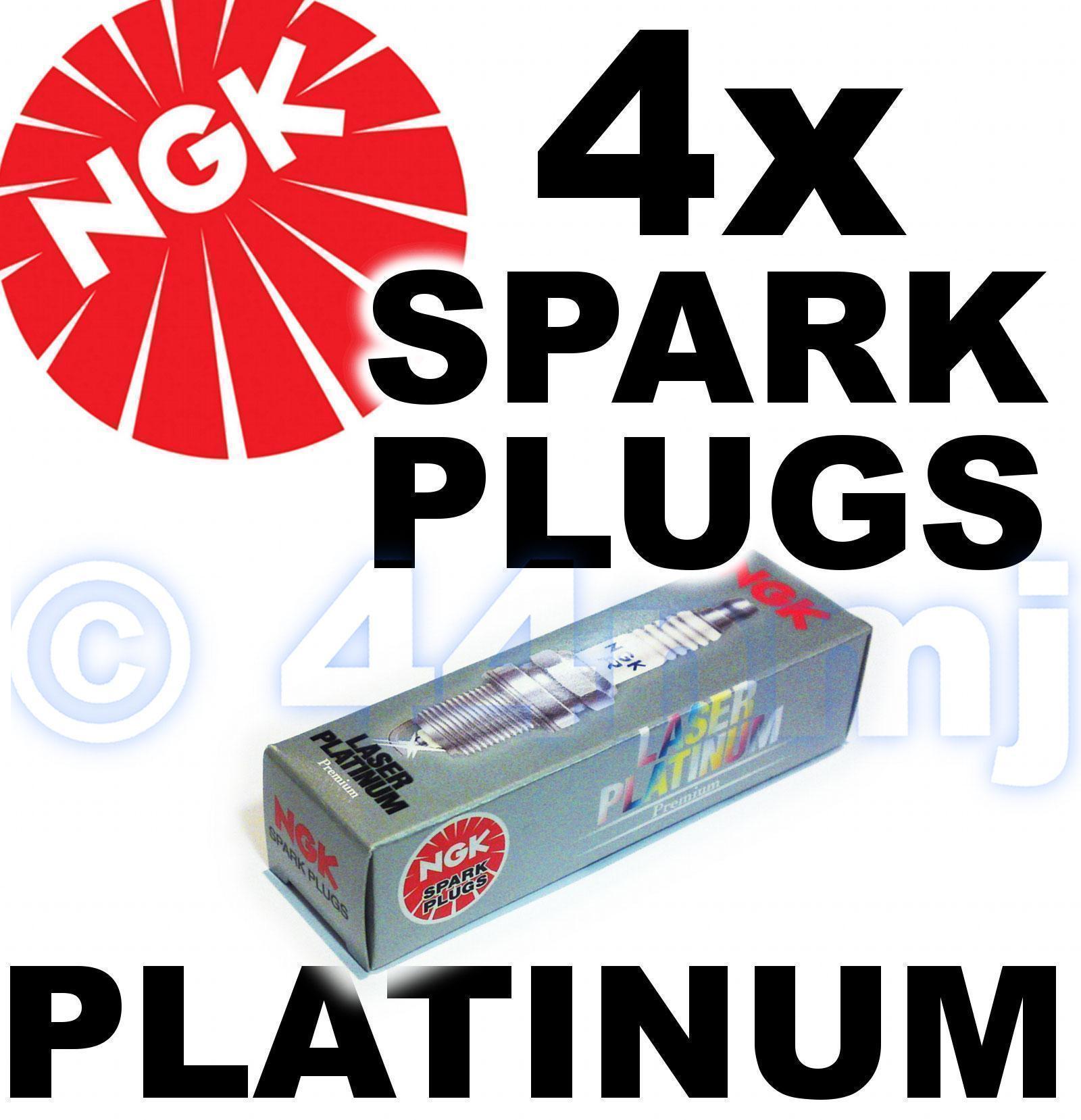 4 Pack 4259 4pk NGK Laser Platinum Spark Plug set Part Number: PMR7A No
