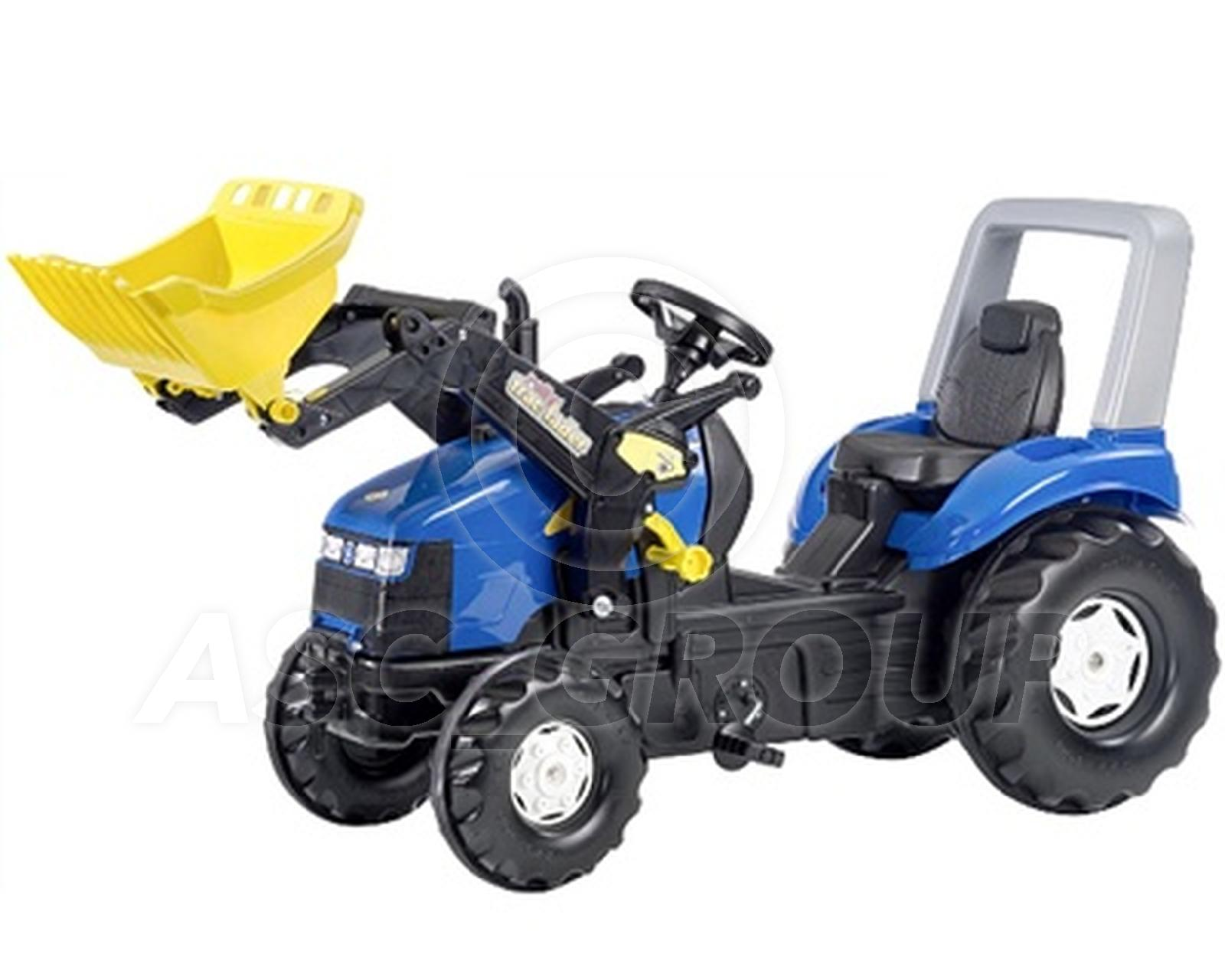 Rolly Toys X Trac New Holland Xl Ride On Pedal Tractor