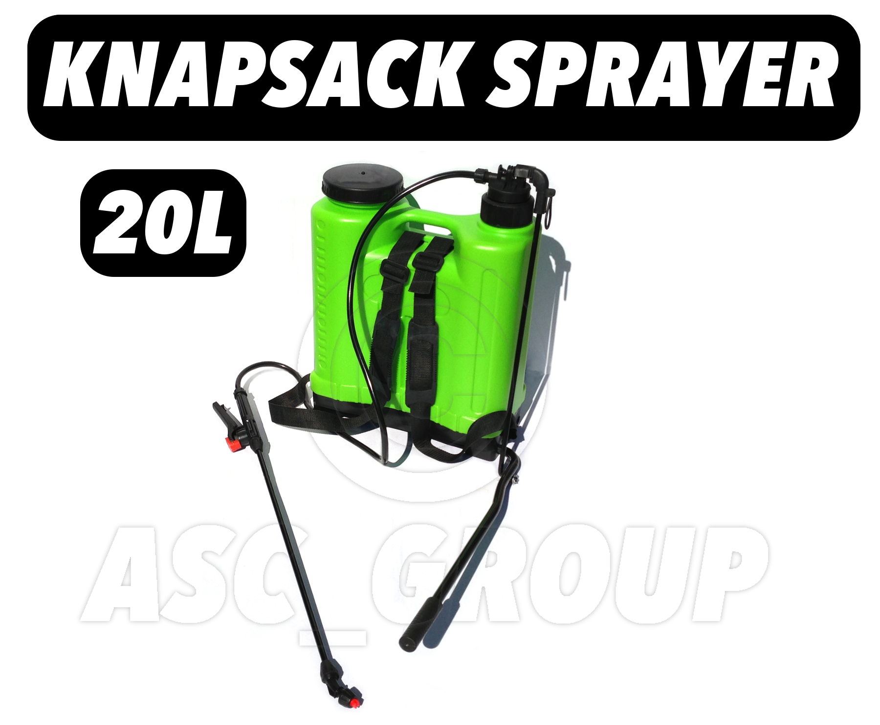 Details about Large 20L KNAPSACK BACKPACK Pressure Sprayer Water /  Weedkiller / Fertiliser