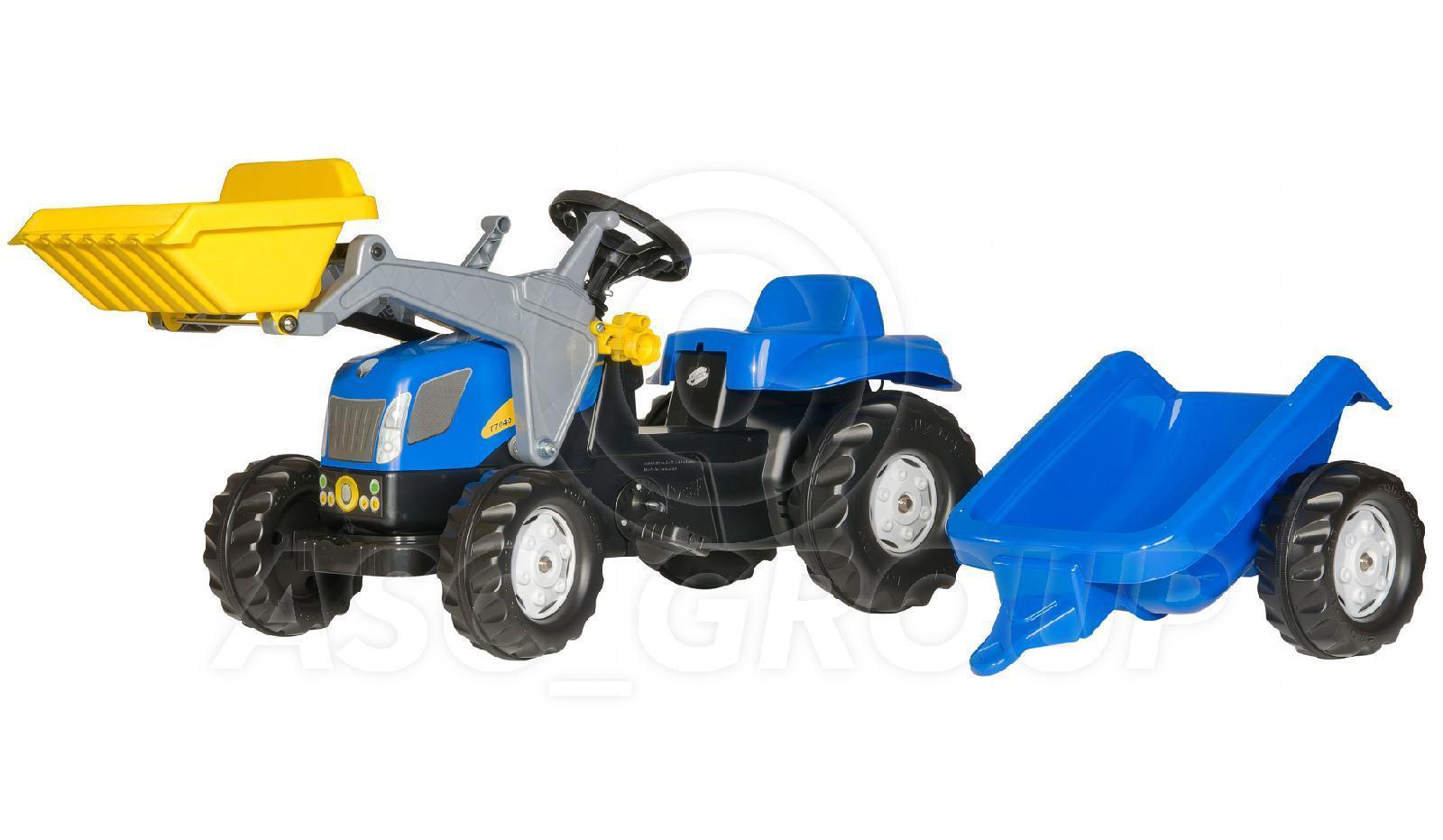 rolly toys new holland t 7040 rutscher pedale traktor. Black Bedroom Furniture Sets. Home Design Ideas