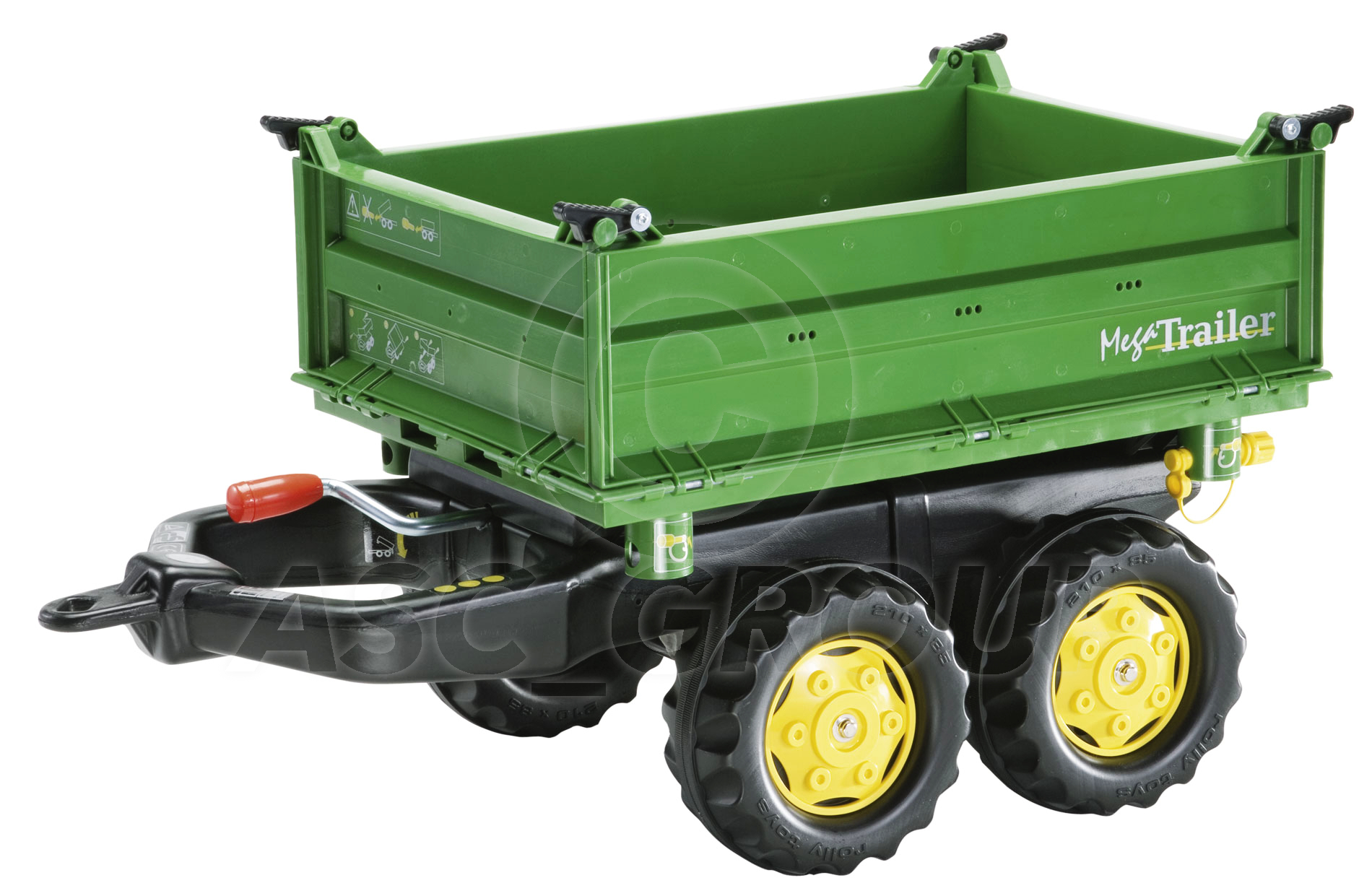 Rolly Toys John Deere Pedal Tractors Trailers Loader