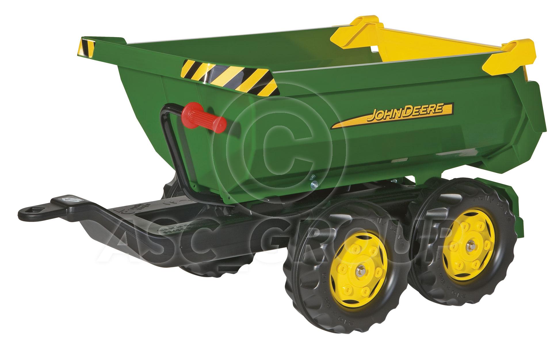 John Deere Trailor : Rolly toys john deere pedal tractors trailers loader