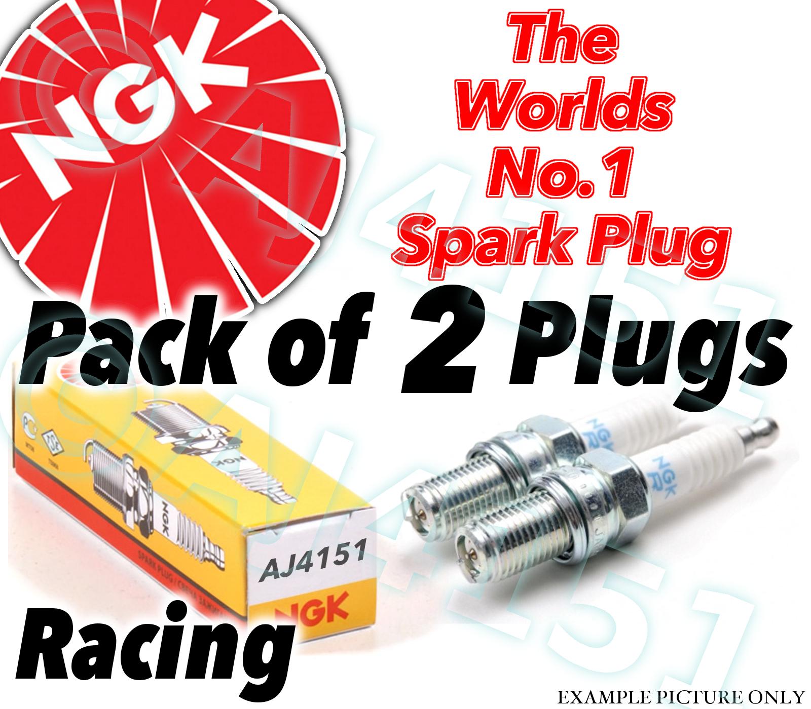 NGK R6061-10//R606110//5962 Racing Candela Confezione da 4 componenti originali NGK