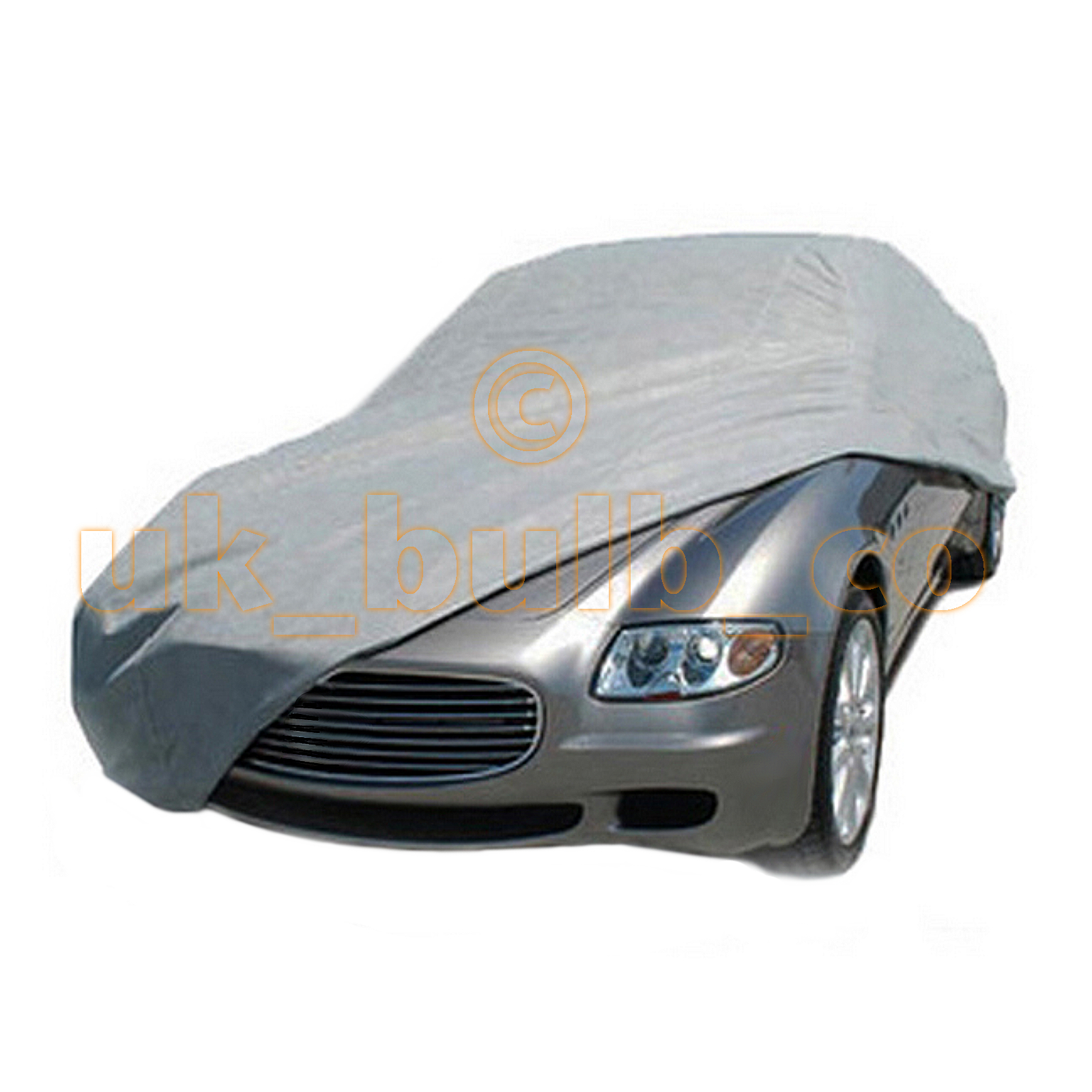 SILVER WATERPROOF CAR COVER TO FIT Hummer Hummer H2 SUT MODELS