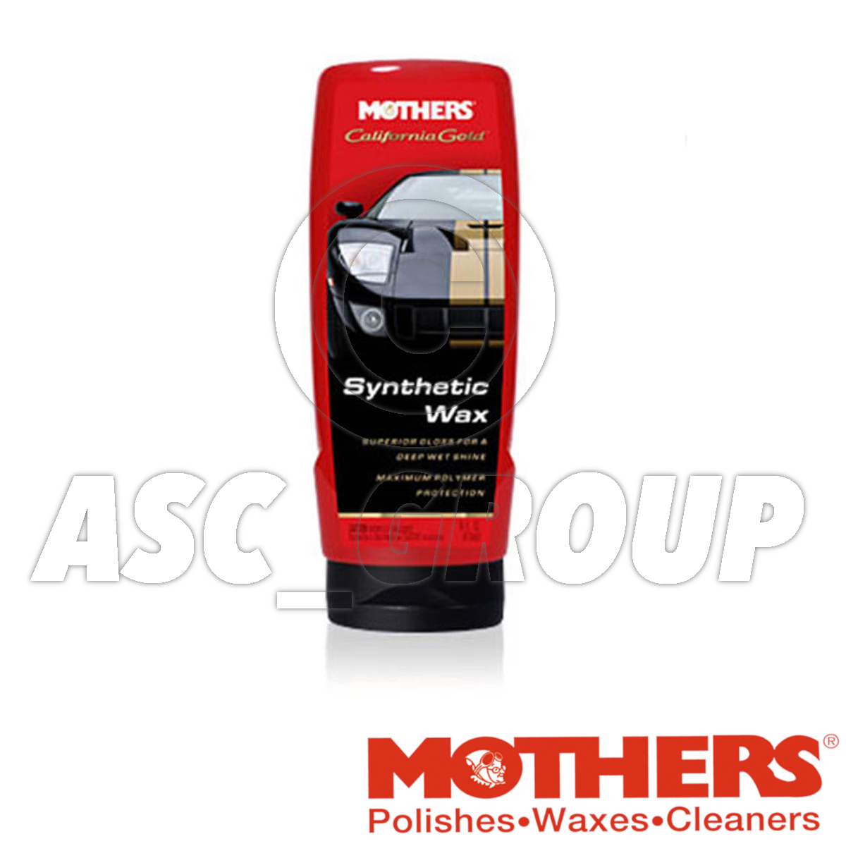 Mothers Car Care California Gold Liquid Synthetic Wax 473ml 16oz