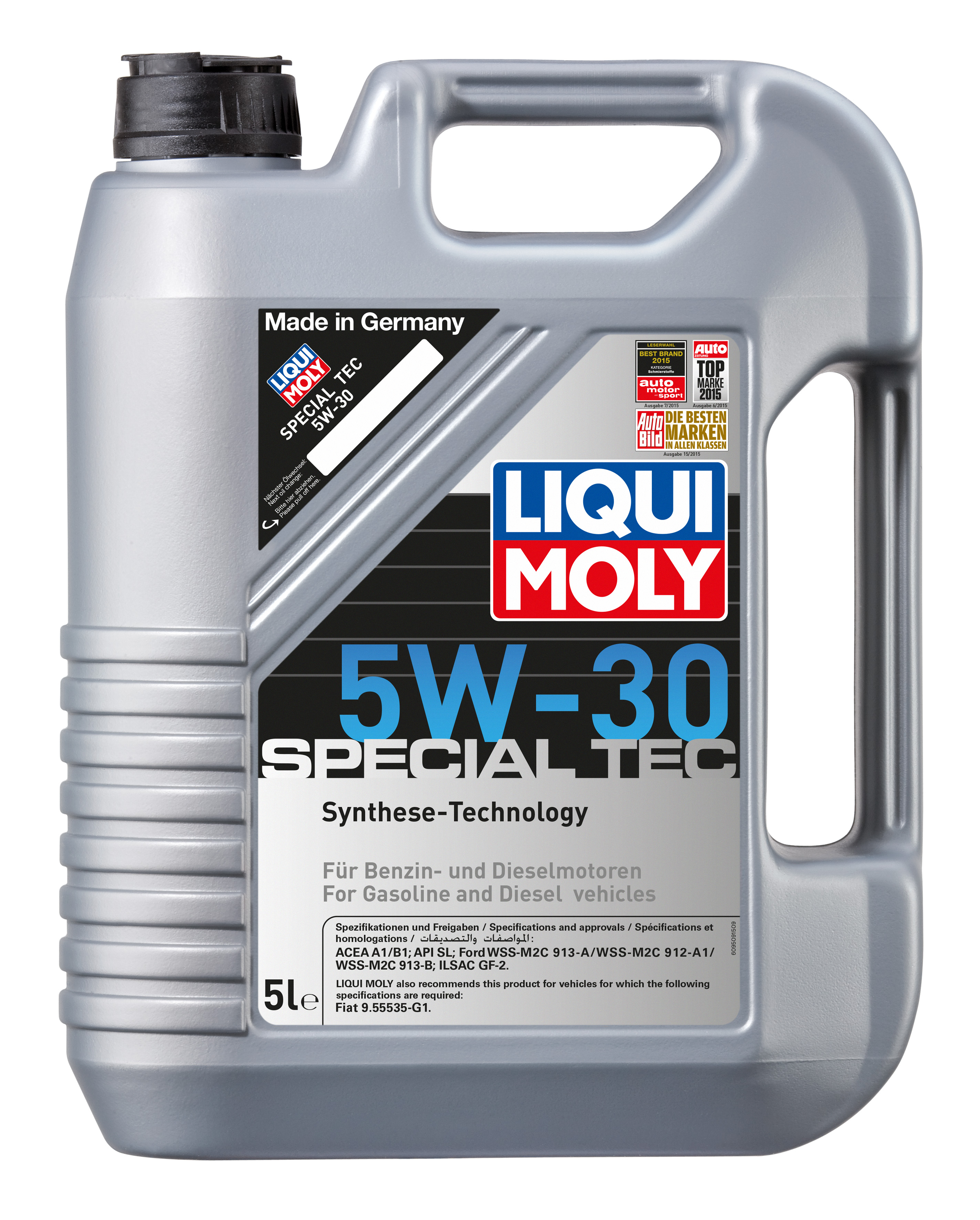 liqui moly 5w30 special tec fully synthetic oil 5l. Black Bedroom Furniture Sets. Home Design Ideas