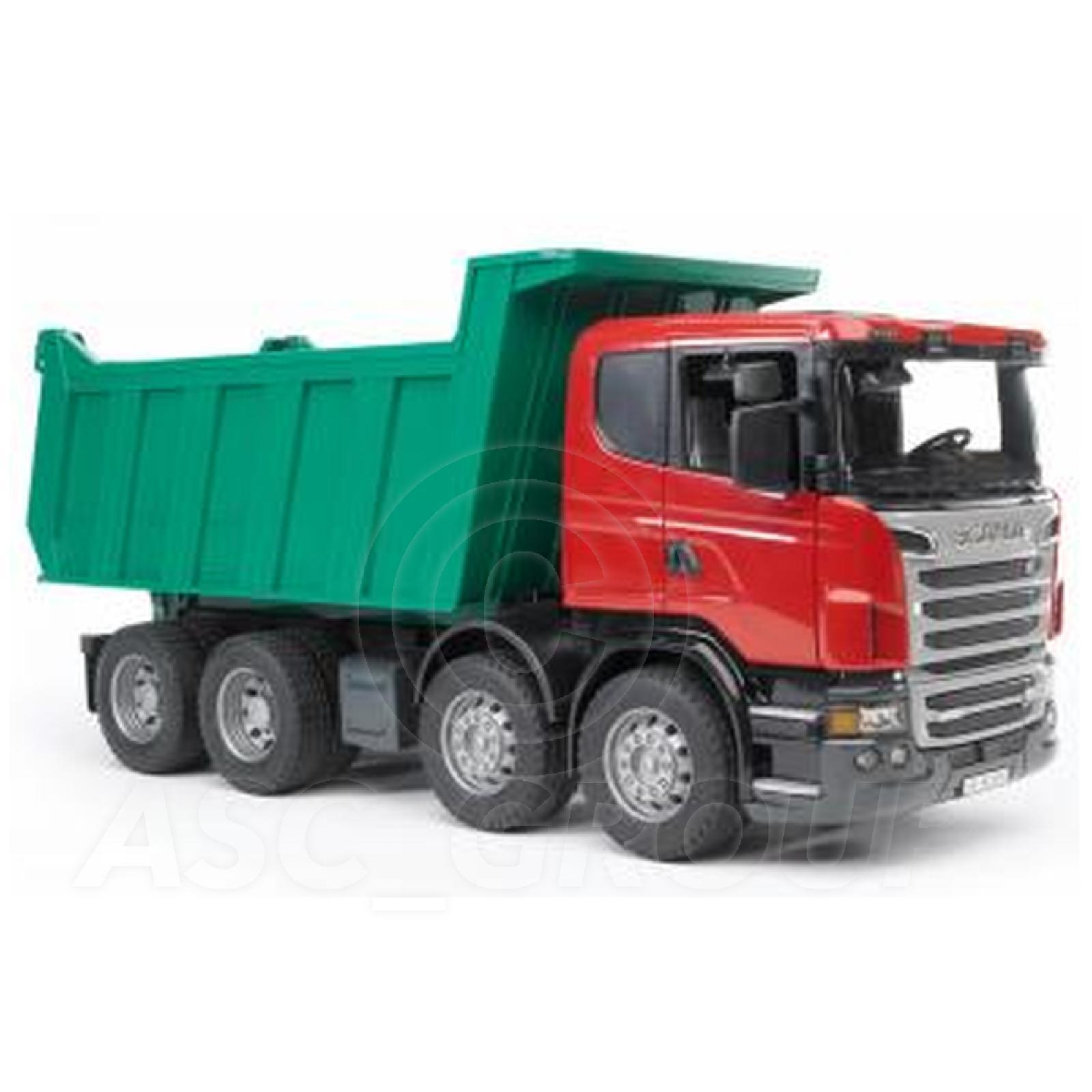 Bruder Toys 03550 Pro Series Scania R Series Tipper Truck