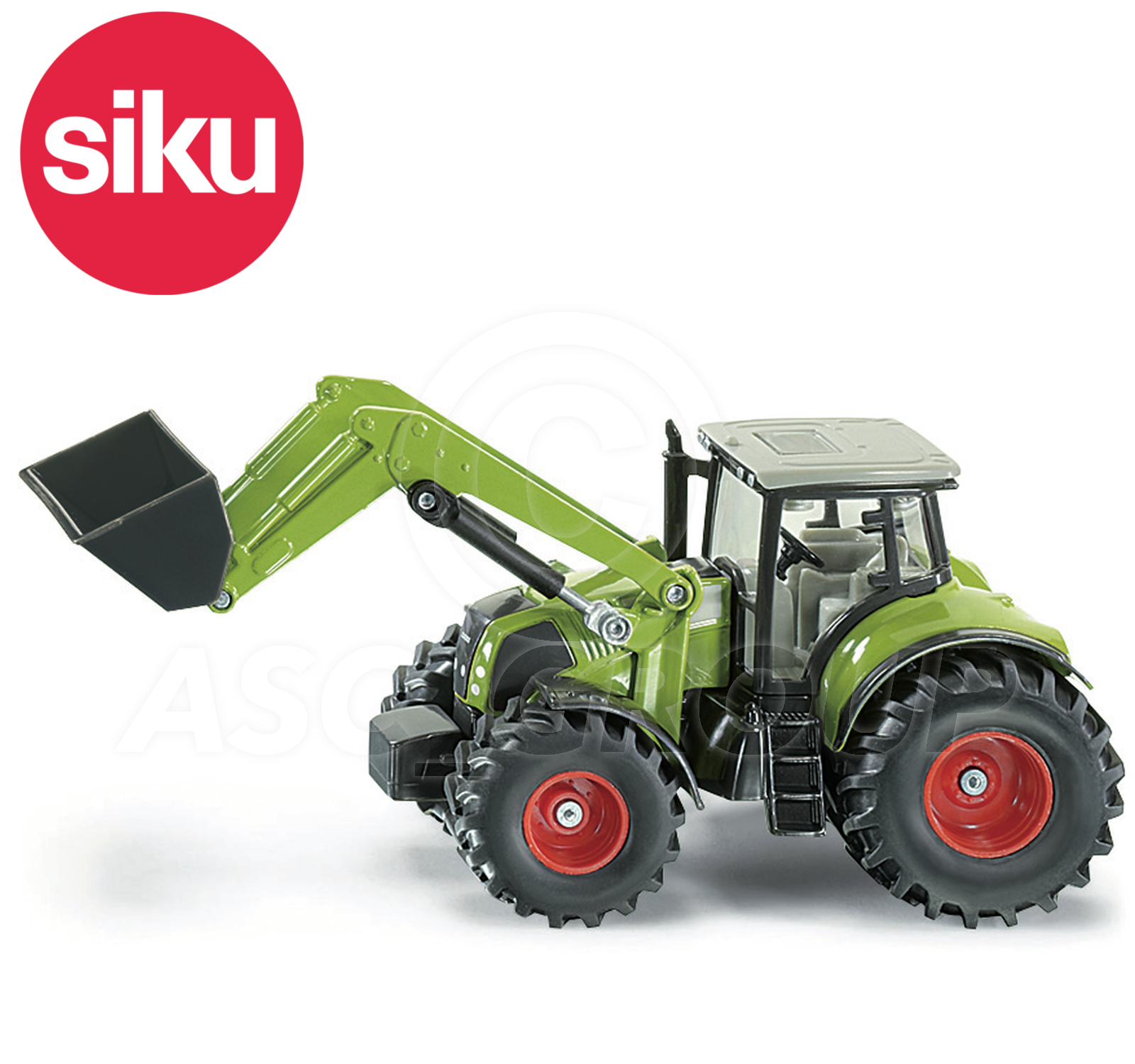 Toy SIKU NO.1979 1:50 CLAAS AXION 850 TRACTOR WITH FRONT LOADER Dicast Model