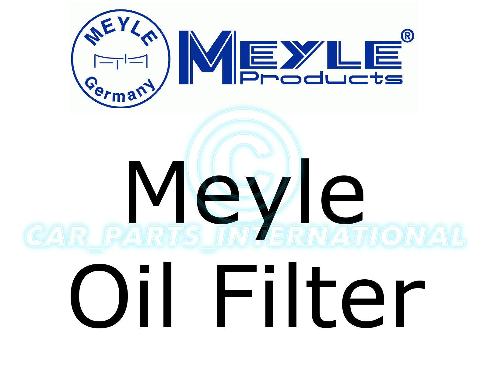Meyle Oil Filter Filter Insert with seal 314 114 0006