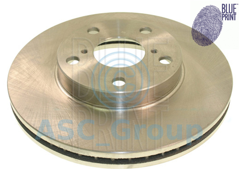 Pair 2x Blue Print Blueprint Front Brake Discs Replacement OE Spec ADT343138