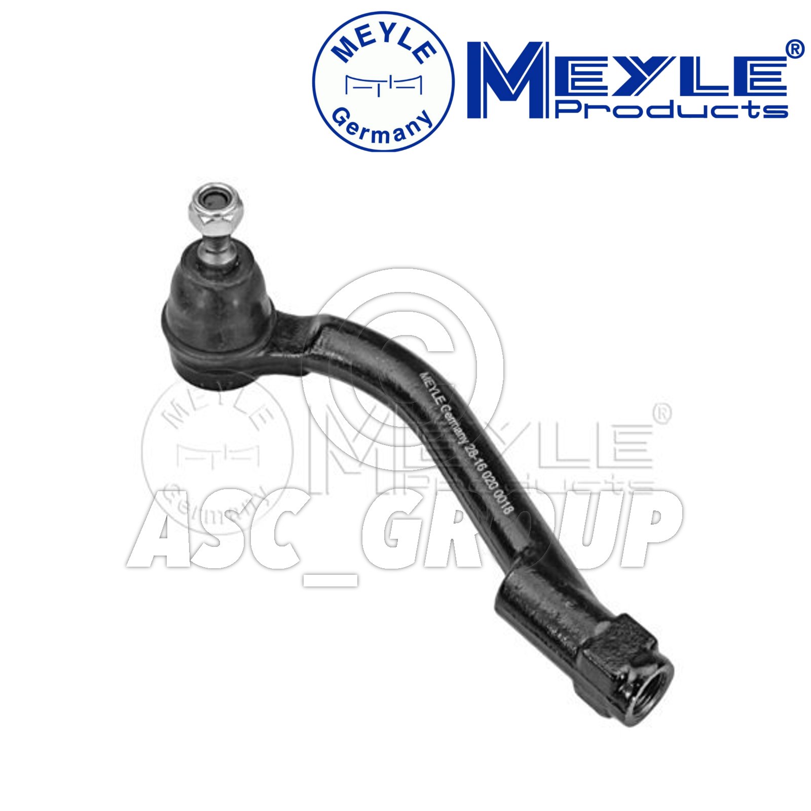 TRE 37-16 020 0018 Meyle Germany Tie // Track Rod End Front Axle Left Part No