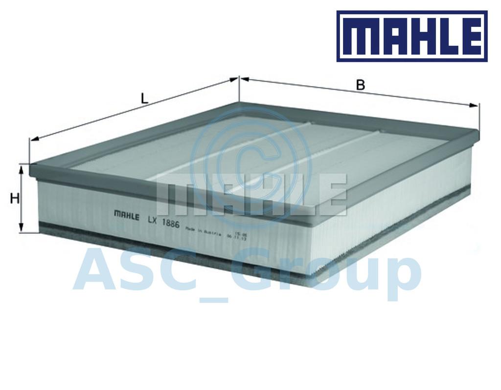 Filtro de aire filtro nuevo mahle original LX 1564