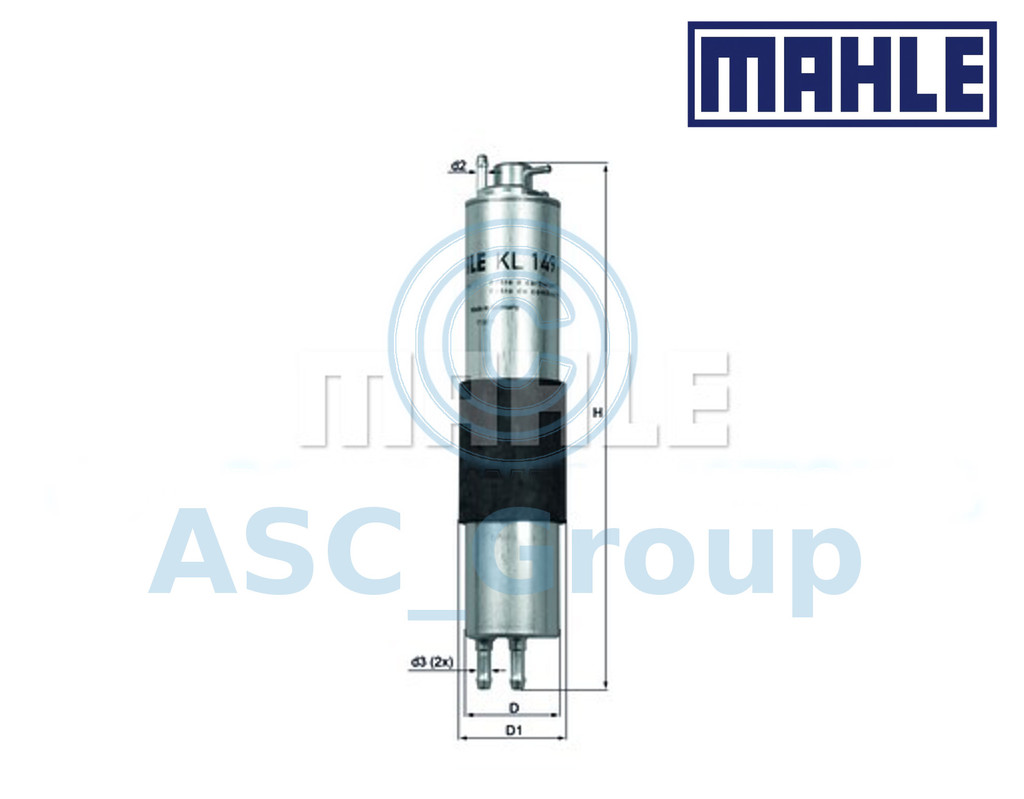 Fuel Filter Mahle KL 149