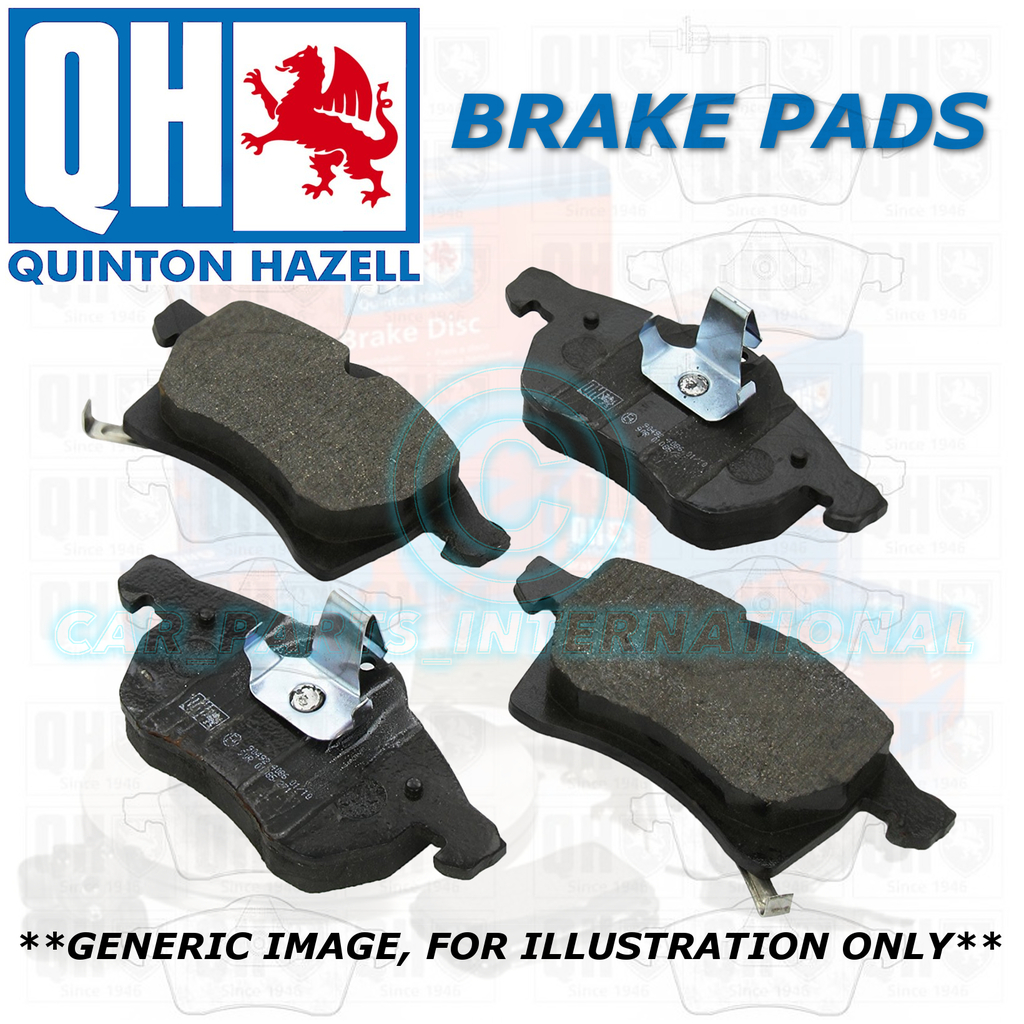 Quinton Hazell QH Rear Brake Pads Set OE Quality Replacement BP973
