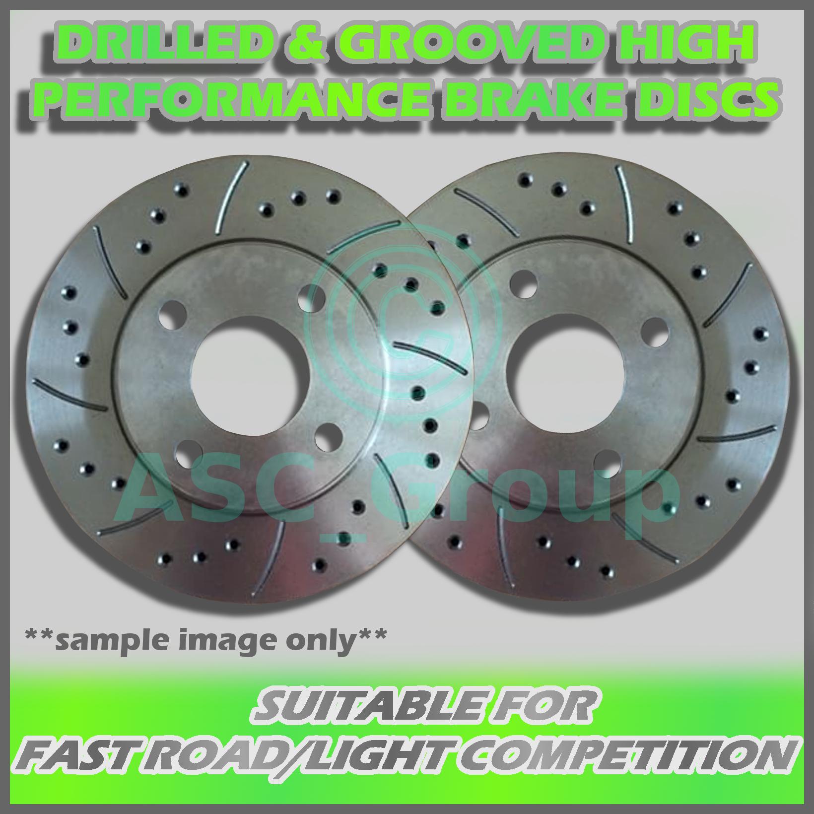 Ford Focus ST 225 MK2 Discos de freno trasero de rendimiento Mintex Almohadillas 280mm