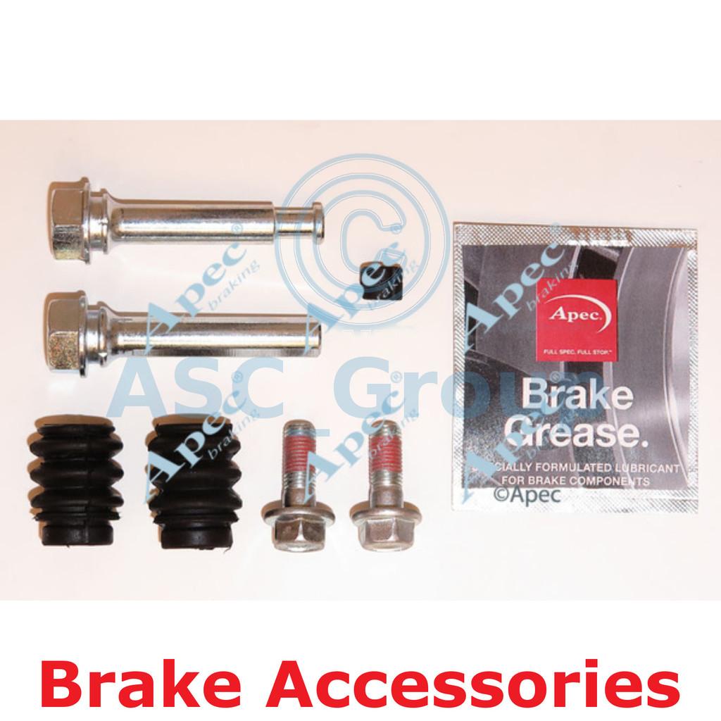 Apec Braking Disc Brake Mando Caliper Slider Bolt Guide Pin Kit CKT1059