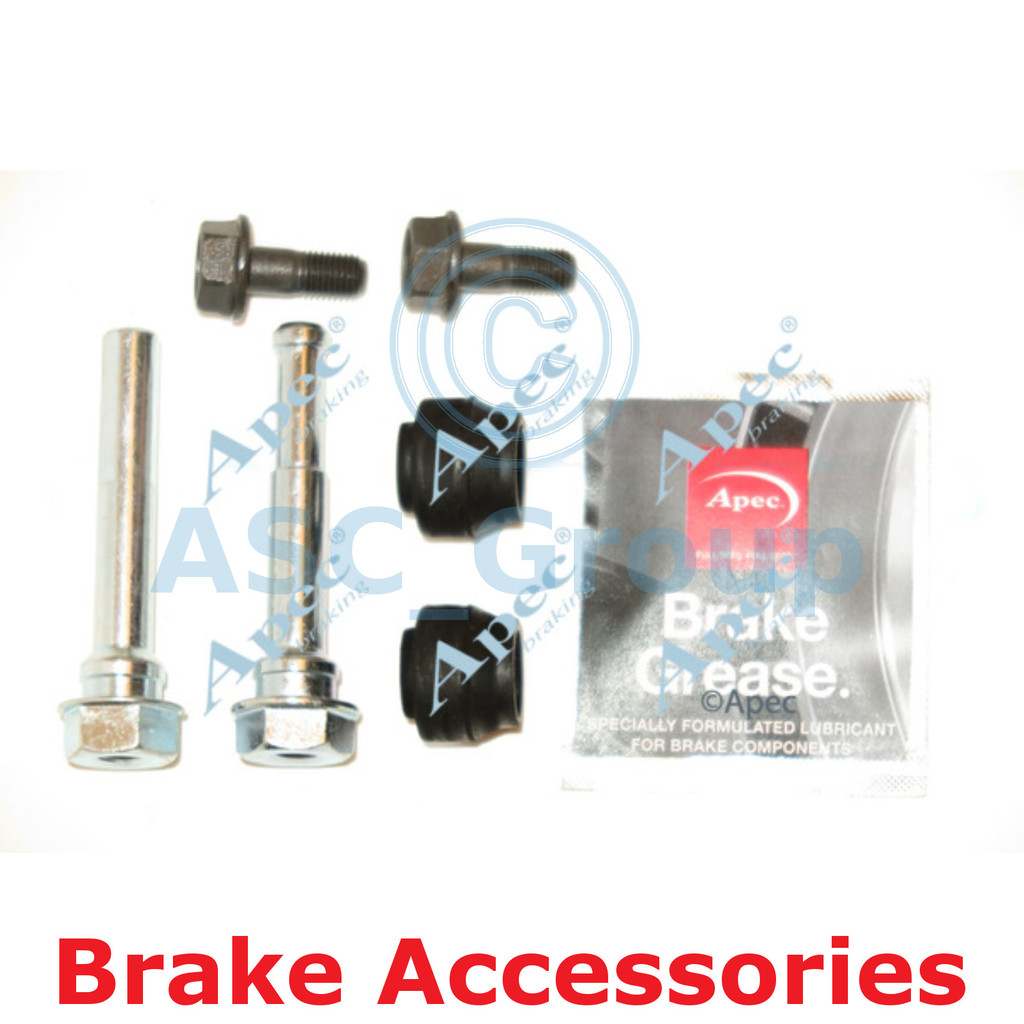 Apec Braking Disc Brake Akebono Caliper Slider Bolt Guide Pin Kit CKT1053