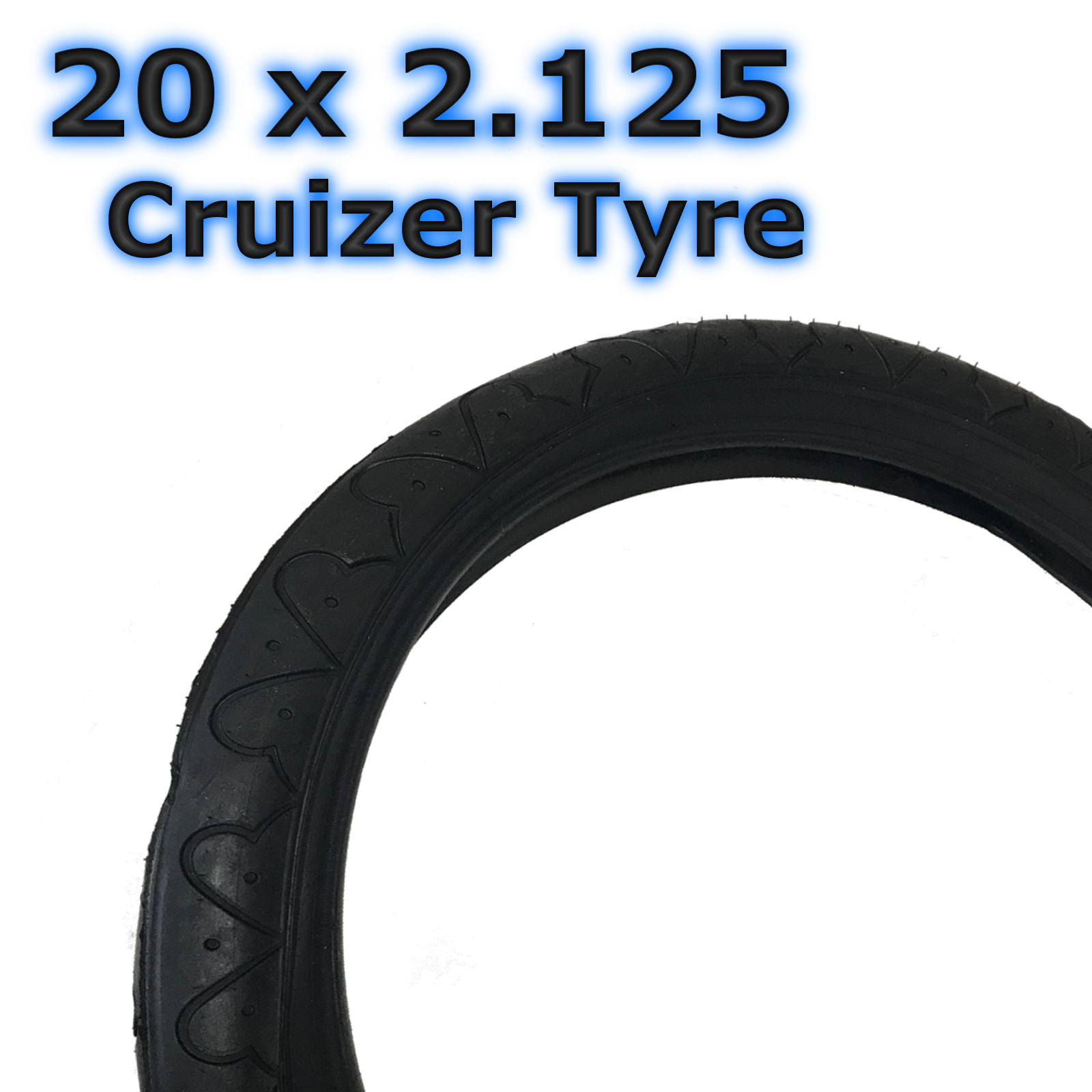 "Bicycle Tires// Tubes 18/""x2.125/"" Black BMX 18/"" Bike MTB BMX Kids Knobbys Cruiser"