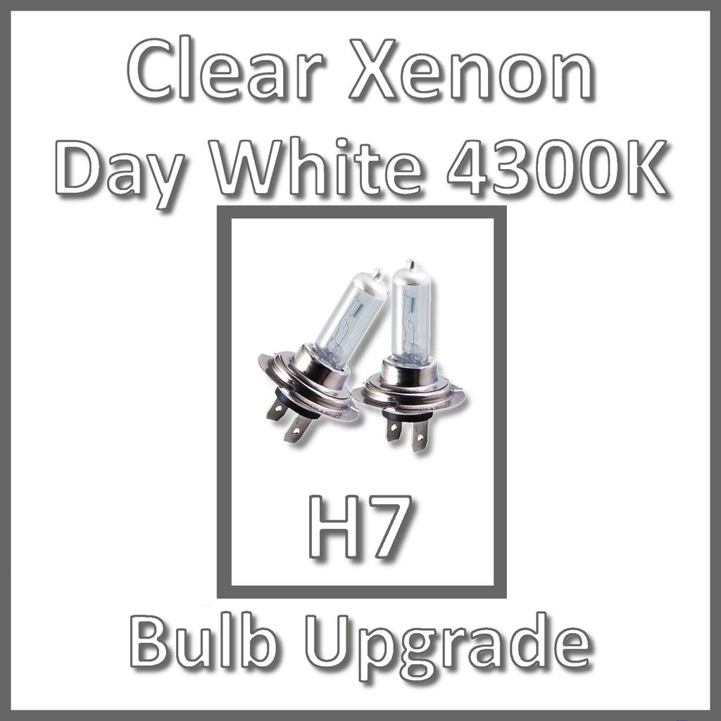 H7 H7 H1 55w Xenon Headlight Bulbs High//Low//Fogs Beam Main//Dip//Fogs White Light