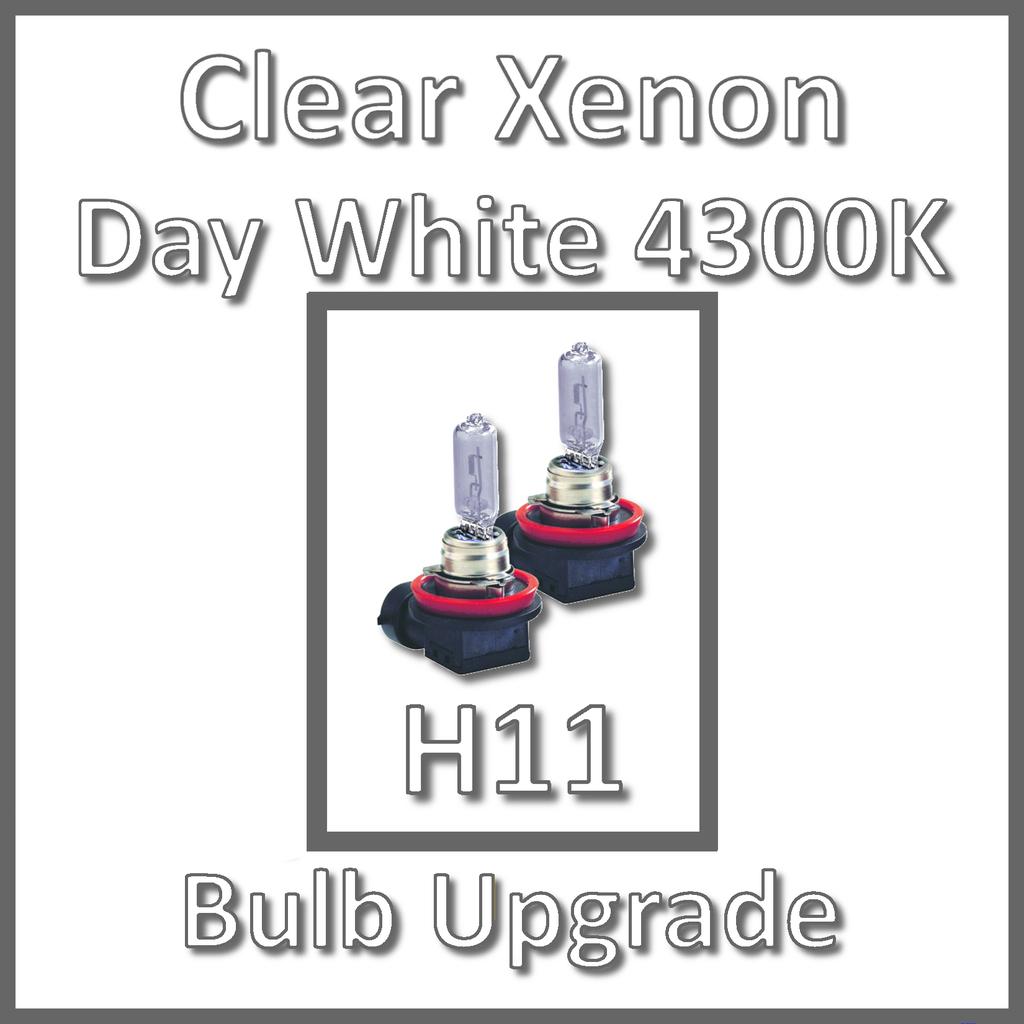 Details about Day White 4300K Xenon Headlight Bulbs Main Dip Beam or Fog  H11 55W (x2)