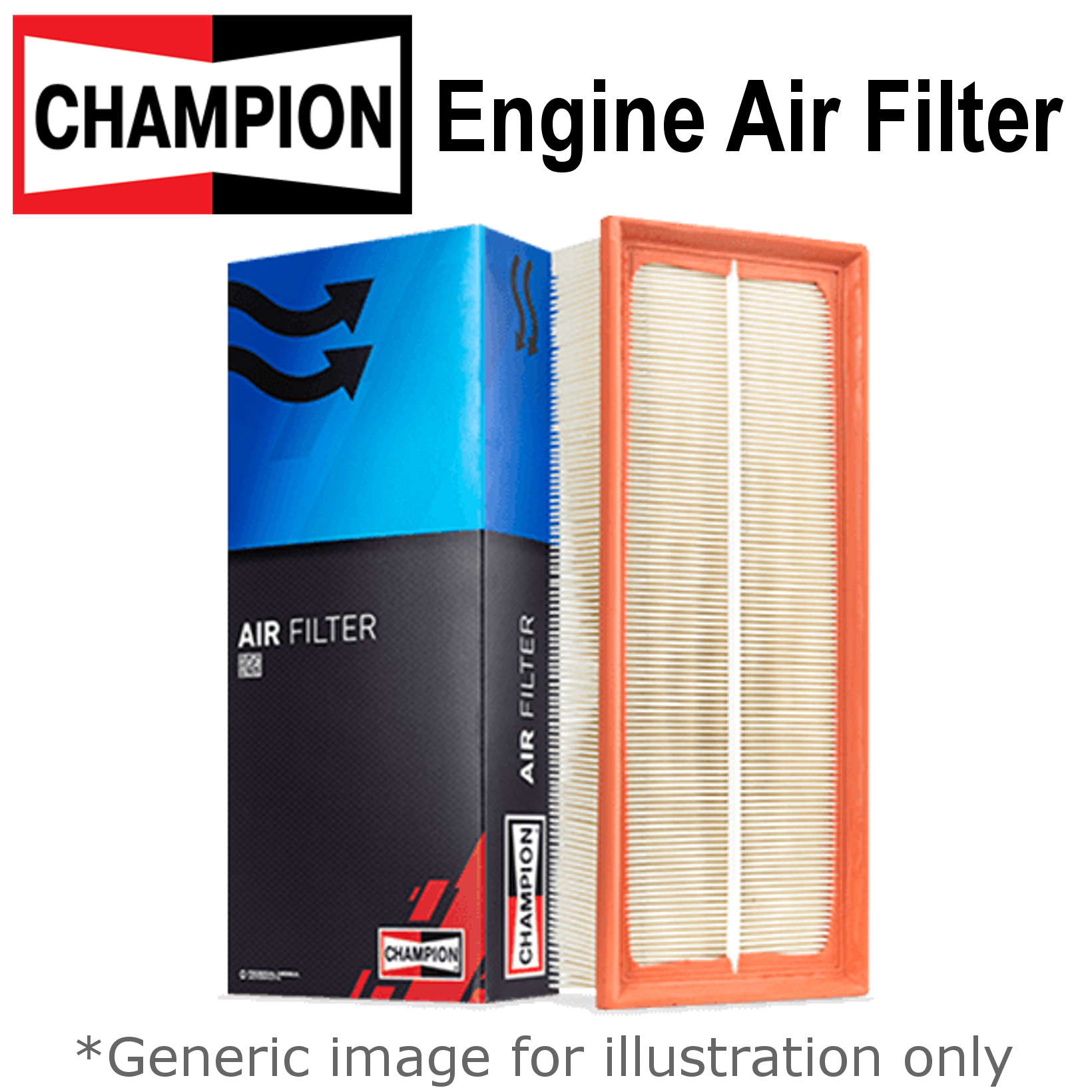Citroen C3 Picasso 2009-2016 Purflux Air Filter Filtration System Replacement