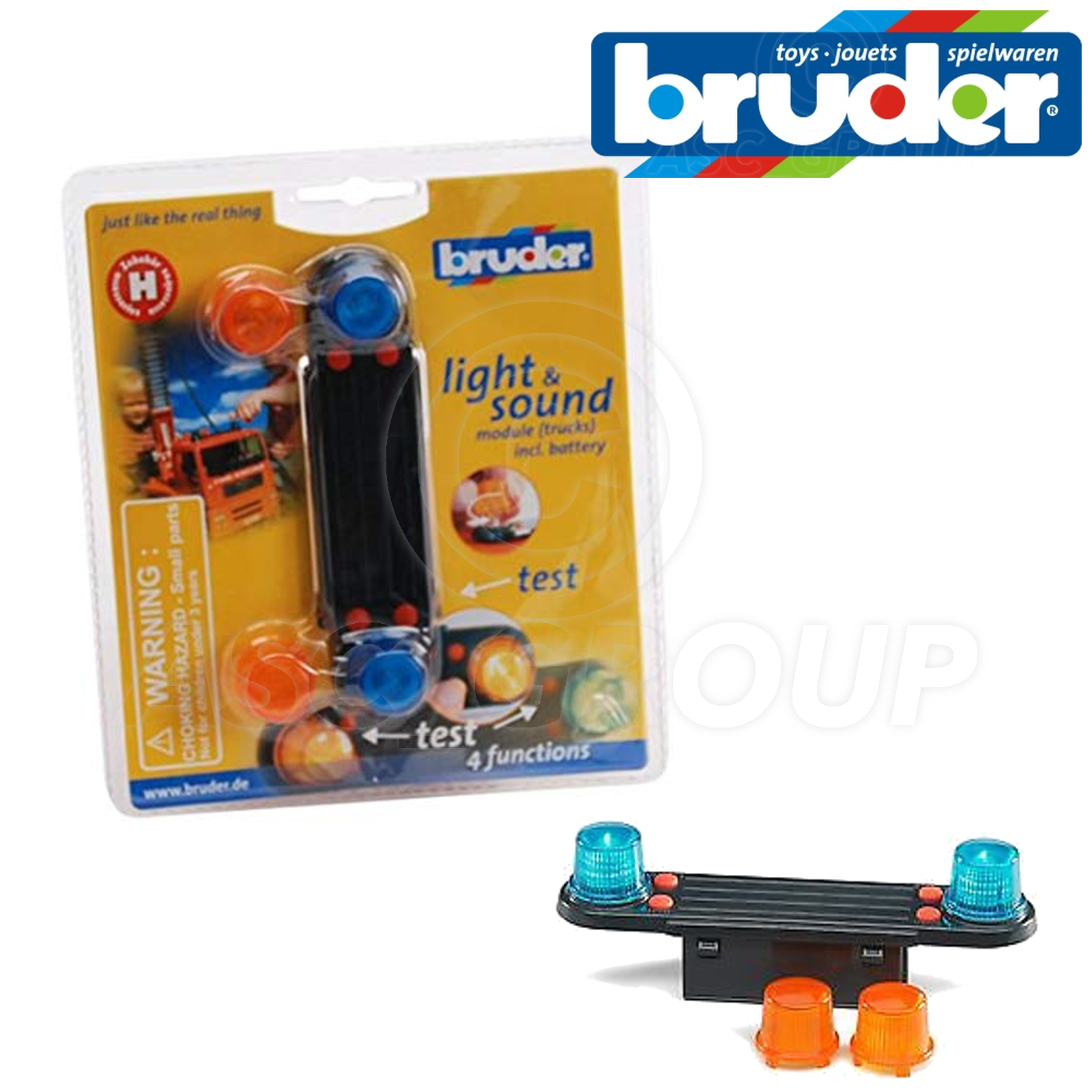 Bruder 02801 Light And Sound Module pour camions