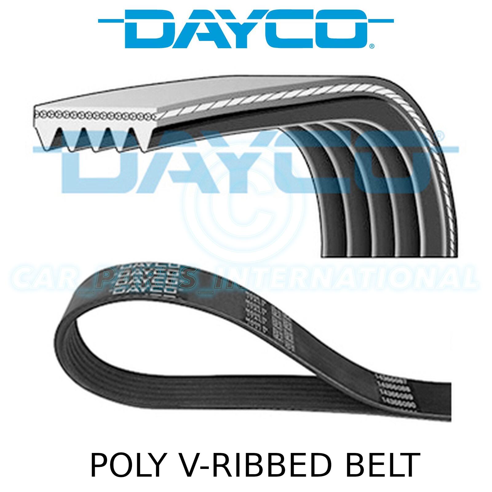 DAYCO poly-v courroie côtelé 4 côtes 850mm 4pk850 Auxiliaire Alternateur Ventilateur