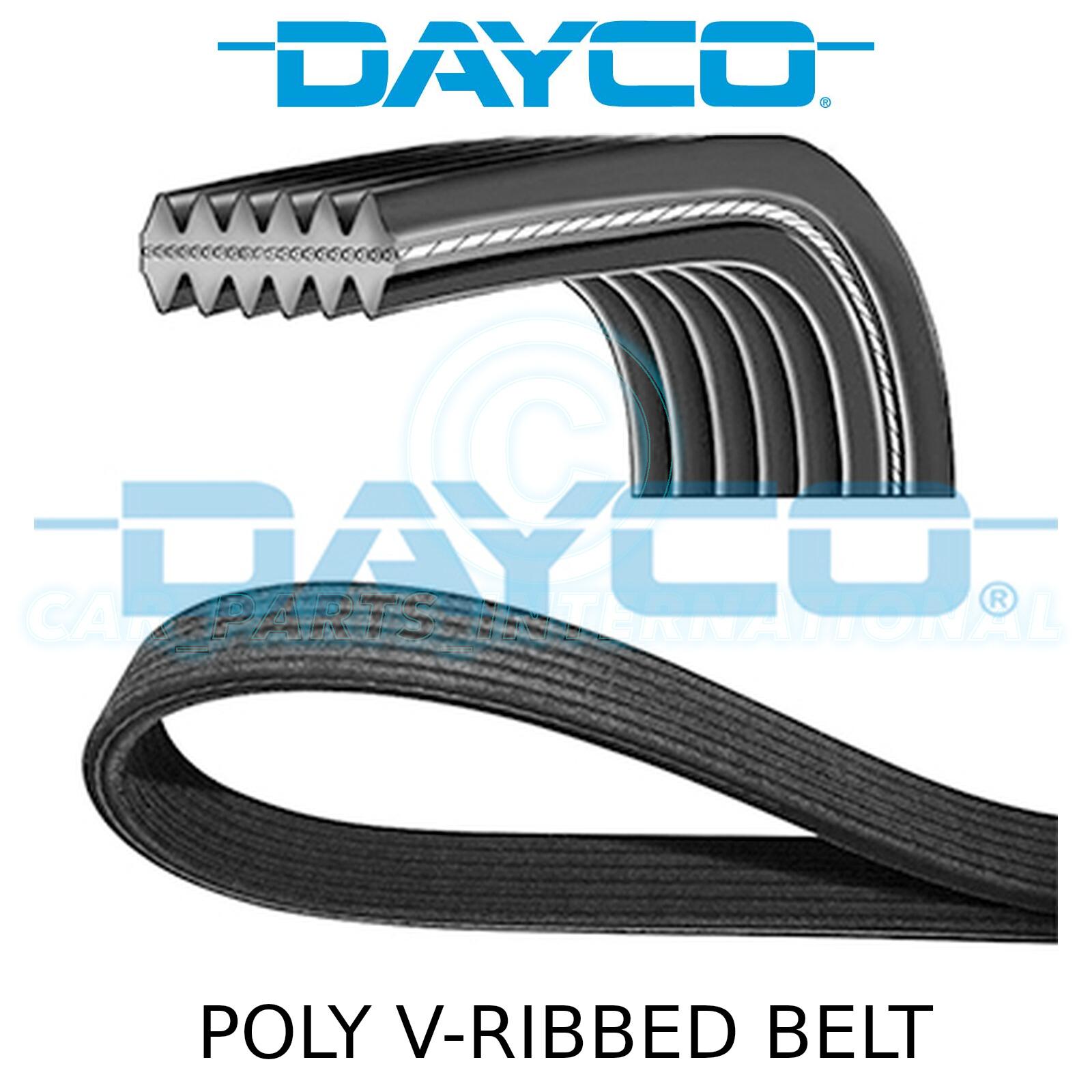 DAYCO Poly-V Ribbed Belt 6 Ribs 1575mm 6PK1575 Auxiliary Fan Drive Alternator