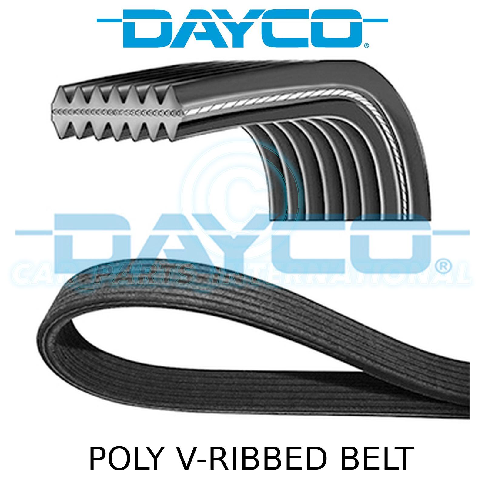 DAYCO POLY V-RIBBED BELT 6PK1660 6 RIBS 1660MM AUXILIARY FAN DRIVE ALTERNATOR
