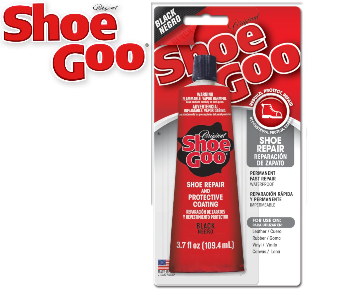 Shoe Goo BLACK Adhesive Reapir Glue for