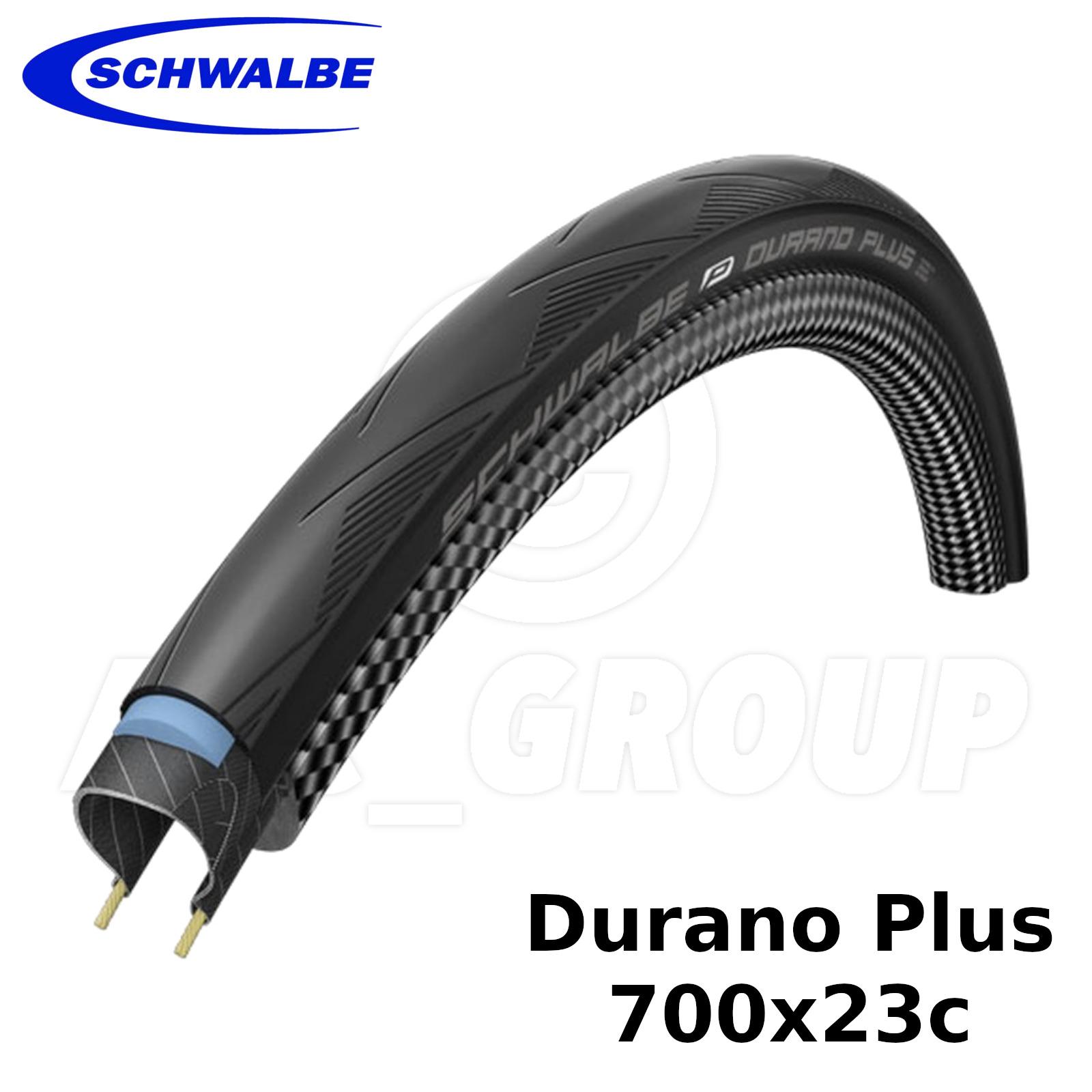 Blue Schwalbe Durano FOLDING 23-622 bike Tyre 700x23 raceguard dual compound