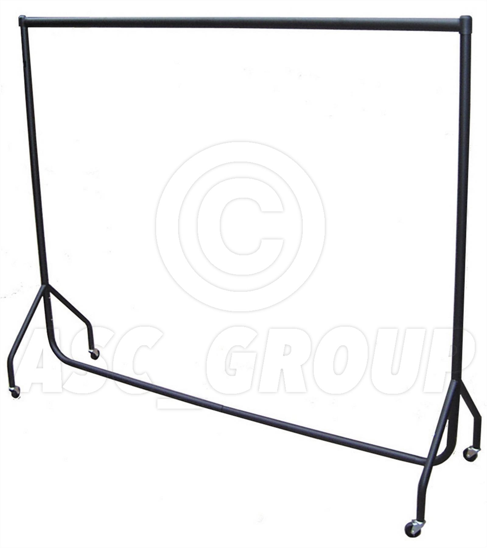 heavy duty metal clothes rail - 6ft long  183cm